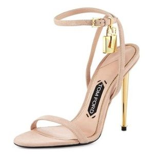 1889b4e8748 Tom Ford Shoes - Tom Ford Strappy Sandal with Spike Heel in Nude